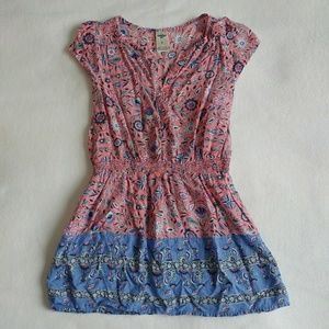 OshKosh Floral Smocked Waist Dress